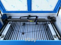 1000x900mm Co2 Laser Engraving Cutting Machine Engraver Cutter USB Motor Z axis