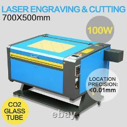 100W 700X500MM CO2 USB Gas Laser Engraver Cutter DSP Engraving Cutting Machine