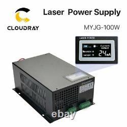 100W CO2 Laser Power Supply PSU for RECI W2 Laser Tube Engraving Cutting Machine
