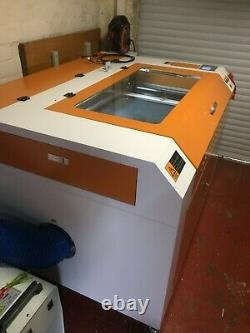 100W HQ9060 CO2 Laser Engraving Cutting Machine/Laser Engraver Cutter 900600mm