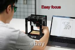 10W CNC Laser Engraving Cutting Machine Engraver Wireless Logo Marker 445nm DIY
