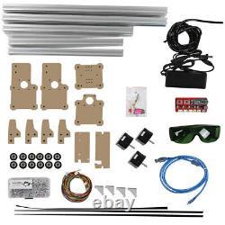 110-240V CNC Laser Engraver Cutter Metal Wood Cutting Machine Desktop DIY Kits