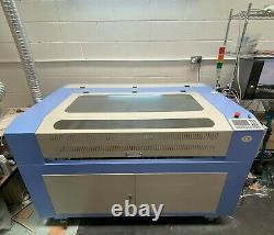 1200900mm 60W CO2 Laser Engraver Engraving Cutting Machine