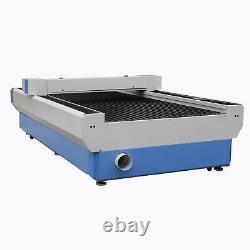 1300x2500mm RECI W2 100W Co2 Flatbed Laser Cutter Laser Cutting Engraving USB