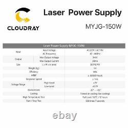 150W CO2 Laser Power Supply PSU for RECI Laser Tube Engraving Cutting Machine