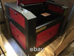 150W LFJ6090 Laser Engraving Cutting Machine Engraver Cutter 600x900mm Work Area