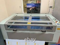 150w CO2 Laser Engraver Laser Engraving Cutting Machine Carving Rotary Accessory