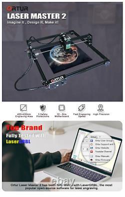 15W ORTUR 32 bit Laser Master 2 Laser Engraving Cutting Machine Printer
