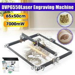 2-Axis 7000mW 65x50cm USB Metal Laser Engraving Machine Engraver Cutting Printer