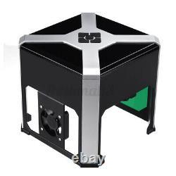 3000mW Wifi 3D CNC Laser Engraver Engraving Machine Cutting USB Mark Printer US
