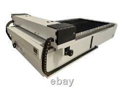 300W HQ1325 CO2 Laser Engraving Cutting Machine Engraver Cutter Rack Servo Motor
