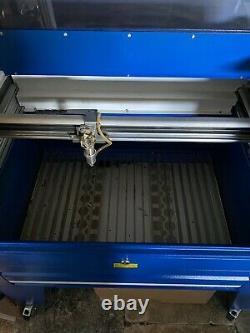 30w Air Cooled Rf Laser Engraving Cutting Machine Co2