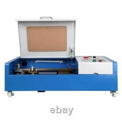 40W CO2 Laser Engraver Cutter Engraving Cutting Machine 300x200mm LCD Display