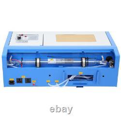 40W CO2 Laser Engraver Cutter Engraving Machine Cutting 300x200mm UK