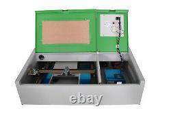 40W CO2 Laser Engraver Cutter Laser Engraving Machine Cutting Machine 300x200mm