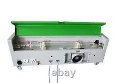 40W CO2 Laser Engraving Machine 300x200mm Cutting Cutter Wood Working + 4 wheels