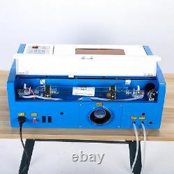 40W CO2 Laser Graviermaschine Gravierfräsmaschine Cutting Engraver Lasergravur