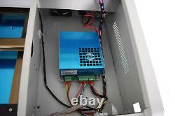 40W CO2 USB Laser Engraving Cutting Machine Engraver Cutter PM working no1