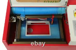 40W CO2 USB exquisite laser engraving and cutting machine + 4RADS Exquisite