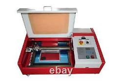 40W CO2 USB laser engraving and cutting machine + 4RADS