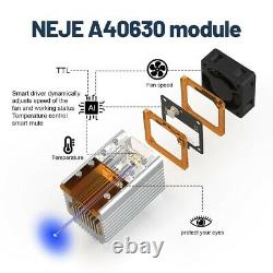 40W High Power CNC Laser Module Head Kit Engraving Cutting Machine Fast Cutter