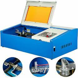 40W USB Laser Engraver Cutter Engraving Cutting Machine Laser Printer