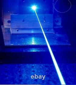 450nm Blau Blue Laser 15W Lasermodule Diode für Engraving Cutting TTL/PWM+Brille