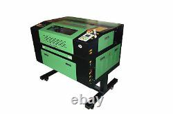 50W CO2 Laser Engraving Cutting Machine Engraver Cutter USB Port 220V 500x300mm