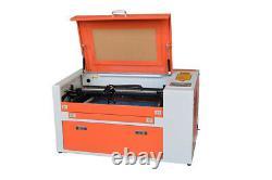 50W CO2 USB Laser Cutting Machine 500x300mm Laser Engraver Cutter High Quality