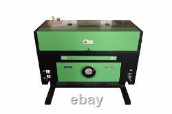 50W CO2 USB Laser Engraving Cutting Machine Engraver Cutter 500x300mm + 4 Wheels