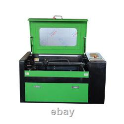 50W CO2 USB laser engraving and cutting machine Rotary axis Bring your own