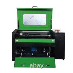 50W CO2 USB laser engraving and cutting machine Rotary axis engraving machine