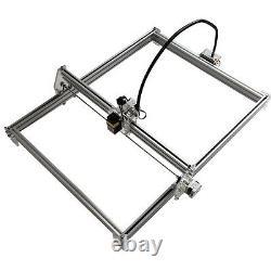 5500mW Desktop CNC Laser Engraver Wood Cutting Marking Machine 50x65cm DIY Kit