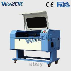 60W 700500mm Co2 Laser Engraving Engraver & Cutting Cutter Machine USB