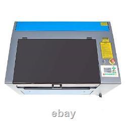 60W CO2 Laser Engraver Engraving Cutting Machine 600400mm Patent Model