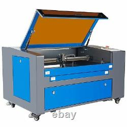 60W CO2 Laser Engraver Engraving Cutting Machine 600400mm with Rotary Axis