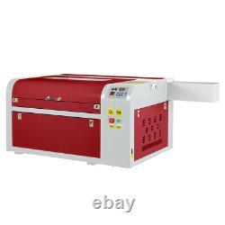 60W CO2 Laser Engraving Cutting Machine Engraver Cutter USB Port 600mmx400mm