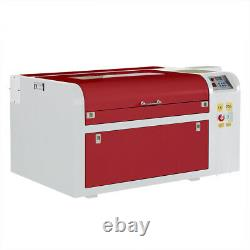 60W CO2 Laser Engraving Machine Wood Engraver Cutter Cutting 600400mm USB Port