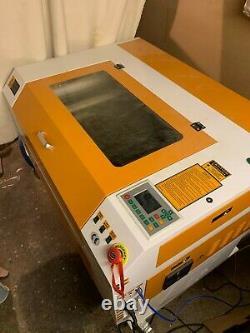 80W 700500mm Co2 Laser Engraving Engraver & Cutting Cutter Machine USB