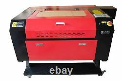 80W CO2 7050 Laser Engraving Cutting Machine Engraver Cutter 700 x 500mm bed