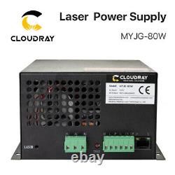 80W CO2 Laser Power Supply PSU for CO2 Laser Tube Engraving Cutting Machine