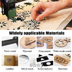 A5 20W Laser Engraving Machine Wood Cutting Desktop DIY Laser Engraver 410x400mm