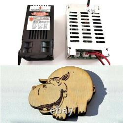 Blue Laser engraving module 450nm 10w CNC Laser Cutting Module with Safty Goggles