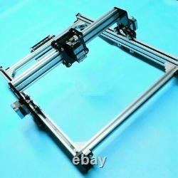 CNC Laser Engraving Printer 110-240V Metal Marking Wood Cutting Machine DIY Kit