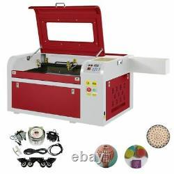 CO2 60W Laser Engraving Cutting Machine Engraver Cutter USB Port High Precise
