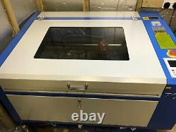 CO2 Laser Engraver Cutting Machine 750 / 500mm 60W With lots Accessories
