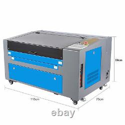 CO2 Laser Engraver Engraving Cutting Machine 60W 600400mm Patent Model USED