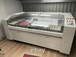 CO2 Laser Engraving Cutting Machine 1800 X 1200 Bed PC Honeycomb Included 90W