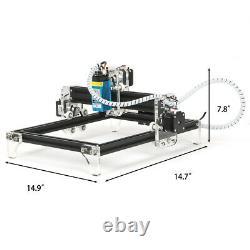 Carving Cutting Desktop Laser Engraver, DIY Logo Picture Laser Engraver 500MW