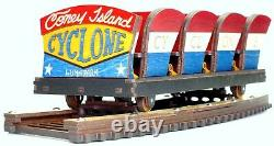 Coney Island Cyclone Roller Coaster Model Laser engraved and cut
